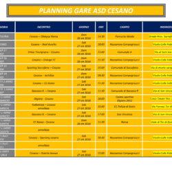 Programma Gare 27 e 28 Ottobre
