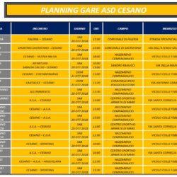 Programma Gare 20 e 21 Ottobre