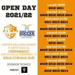 Open Day Lazio Soccer School