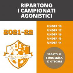 Campionati Agonistici 2021